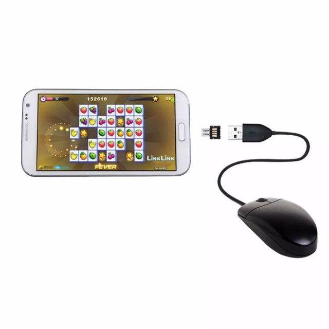 Adaptador Conversor Micro Usb Otg ou Tipo C para Android  Wpp: * - Foto 12