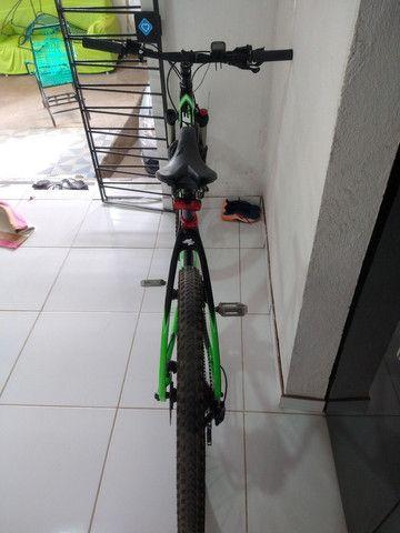 Bike aro 29 venzo x-blaze eno carbono  valor 9.000 - Foto 6