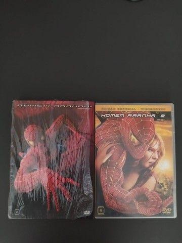 DVDs Homem Aranha 1 e 2