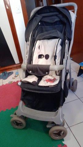 Carrinho de Bebê Galzerano Joaninha Unissex - Foto 2