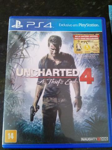 Uncharted 4, aceito mad max, crash, far cry primal, wolfeinteim, etc.