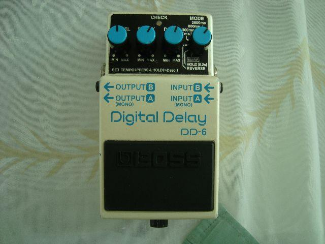 Pedal boss digital delay DD-6(excelente estado )