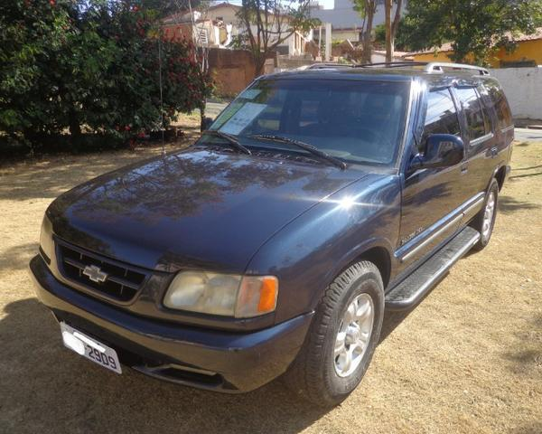 21aa33135f Blazer 1998 DLX 4.3 V6 Kit Gaz 25MT Ar Dir Pneu Novo Raridade Só 19.990  Troco