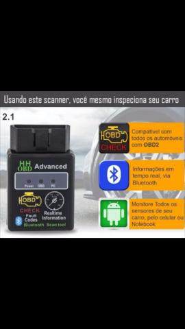 Scanner obd2 bluetooth carro