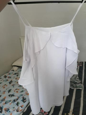 Blusa de alcinha polo wear