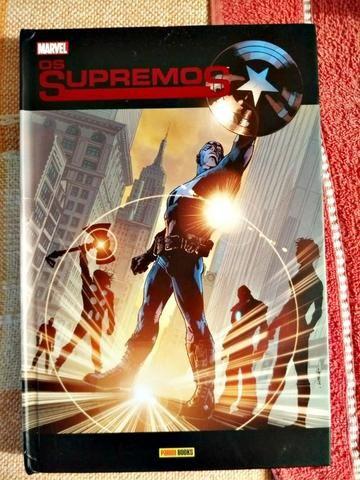 HQ Os Supremos Volume 01 Panini