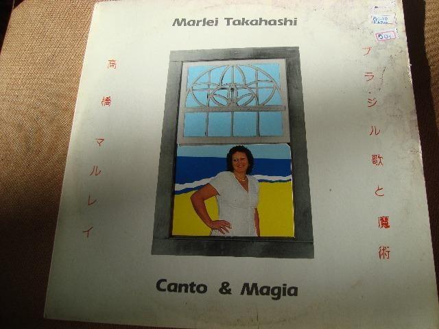 Lp Vinil Marlei Takahashi - Canto & Magia - 1989