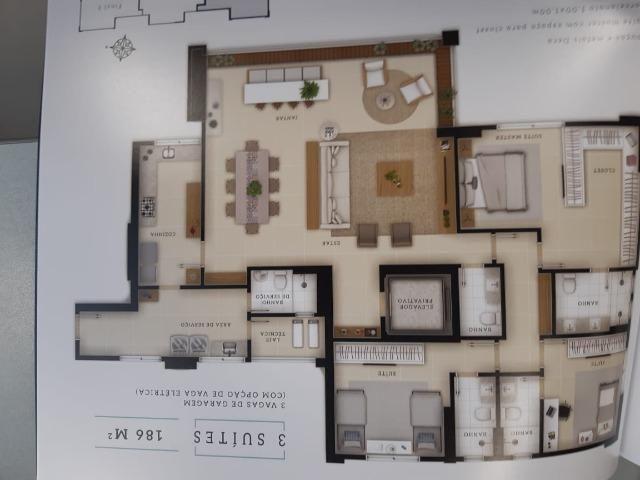 Apartamento 3 suítes setor marista - Foto 11