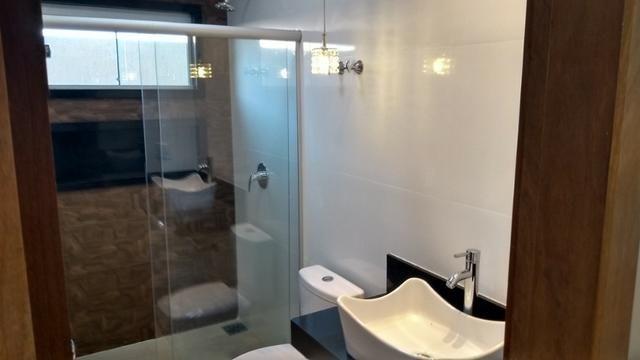 Samuel Pereira oferece: Casa 3 Quartos Nova Moderna Sobradinho Churrasqueira Condomínio - Foto 15