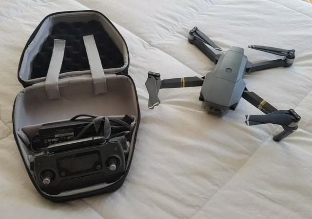 Drone Mavic Pro com Case e acessórios impecável