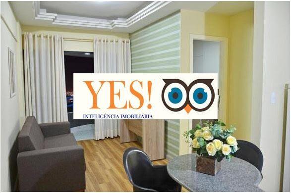 Apartamento Flat para Venda no Classe Apart Hotel - Ponto Central - Foto 2