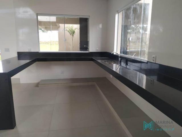 Casa com 2 dormitórios à venda, 242 m² por r$ 1.200.000 - condomínio veredas da lagoa - la - Foto 3