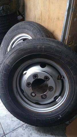 Roda Iveco Daily ORIGINAL aro 16 c/pneu (Tenho 3 Unidades)