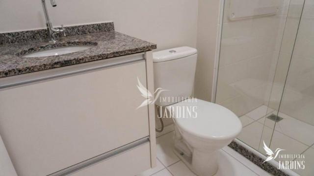 Apartamento com 3 dormitórios para alugar, 70 m² por r$ 1.400,00/mês - centro - londrina/p - Foto 9