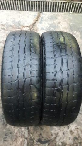 Par de pneu 205/60/16 usados.promoção - Foto 2