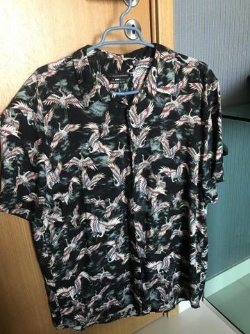 Camisa de botão A.L