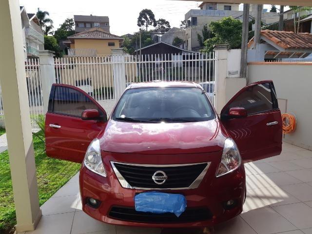 Nissan Versa SV 1.6 Flex Fuel 2014 - Foto 10