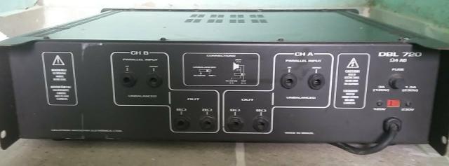 Amplificador DBL 720 + mesa - Foto 4