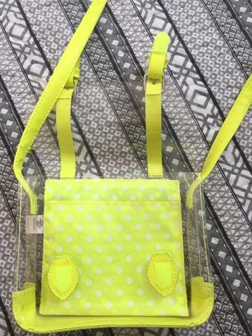 Vendo 2 lindas bolsinhas infantis neon importadas! - Foto 3