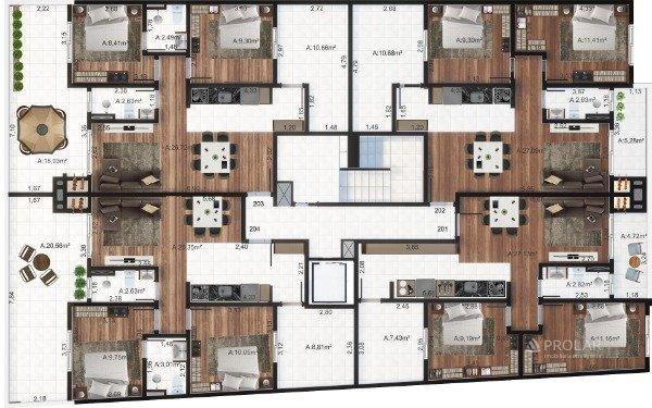 Apartamento à venda com 3 dormitórios em Colina sorriso, Caxias do sul cod:11348 - Foto 4