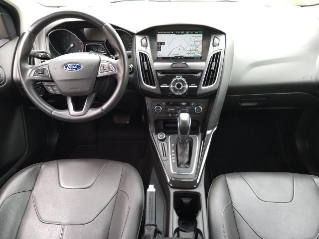 Ford Focus Titanuim 2016 Completíssimo, todas as revisões na concessionária - Foto 14
