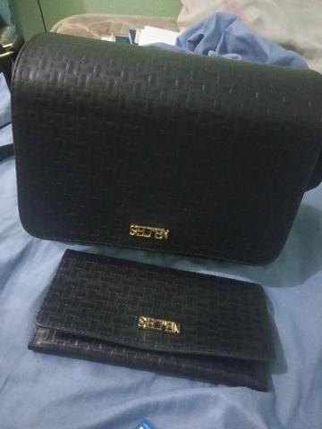 Bolsa e carteira nova (nunca usada)