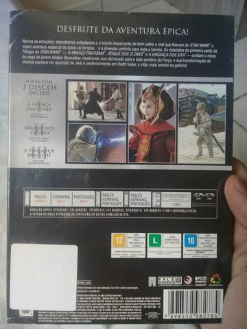 DVD Star Wars - 2° Trilogia - Foto 2