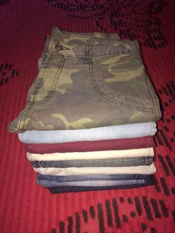 Camisas e calças