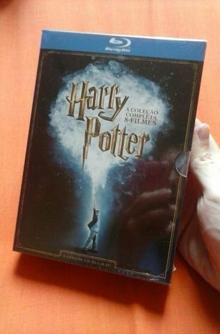 Box Harry Potter Completo Bluray - NOVO