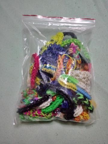 Vendo kit completo de elasticos para pulseiras - Foto 3