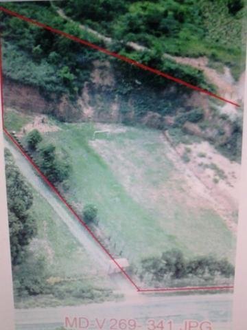 Terreno comercial as margens do asfalto - entrada + parcelas