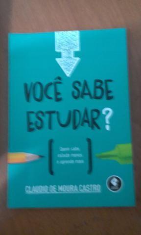 Você sabe estudar? Claudio de Moura Castro