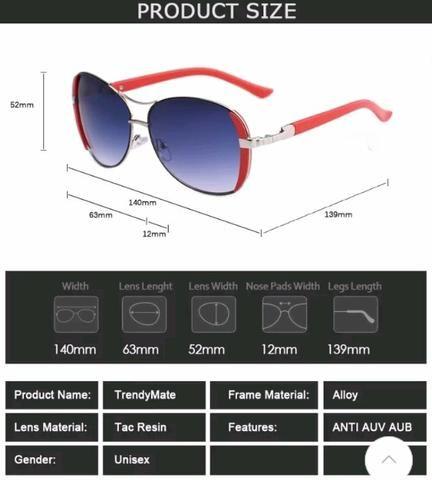 Óculos de Sol importado TrendyMate - Bijouterias, relógios e ... 8a4c3b1fd2