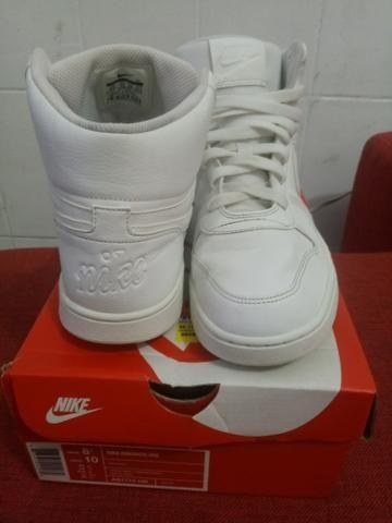 82aec79b1d Tênis Nike Ebernon MID N°40 Branco - Roupas e calçados - Vila Varela ...