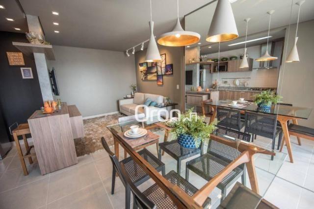 Apartamento à venda, 61 m² por R$ 350.000,00 - Vila Rosa - Goiânia/GO