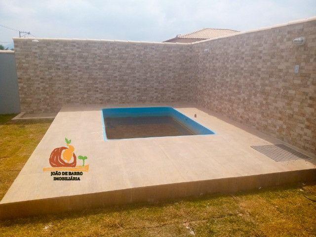 Casas em Unamar Tamoios Cabo Frio com piscina e churrasqueira - Foto 7