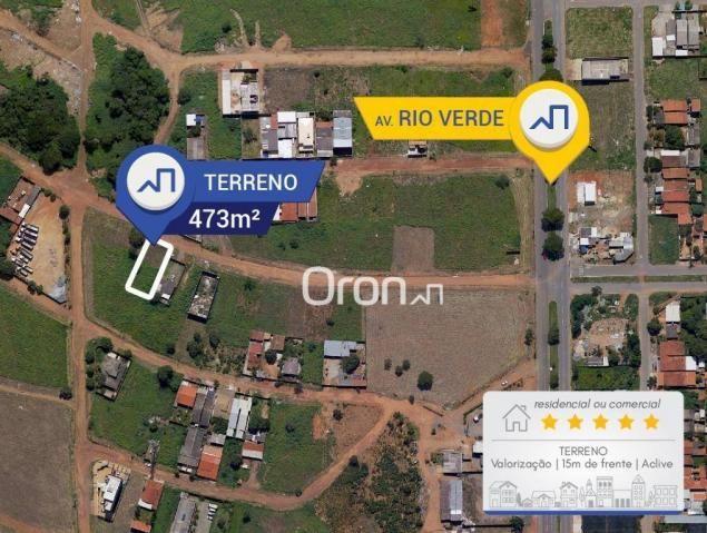 Terreno à venda, 473 m² por R$ 250.000,00 - Setor Faiçalville - Goiânia/GO