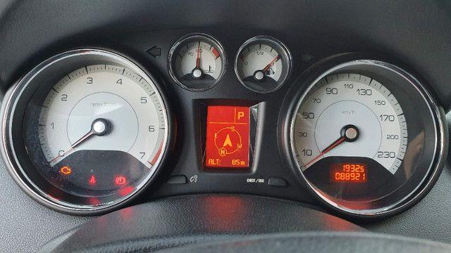 Peugeot 408 Griffe 2011 Prata - Automático/Teto Solar/Bancos de Couro - Abaixo da FIPE!!! - Foto 7