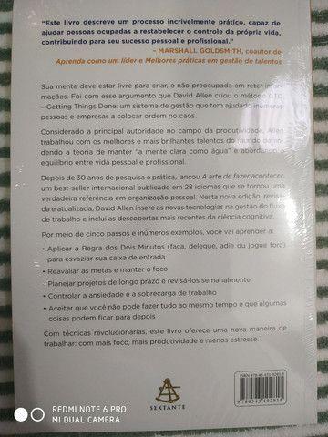Livro NOVO/ LACRADO A arte de FAZER ACONTECER!  - Foto 2