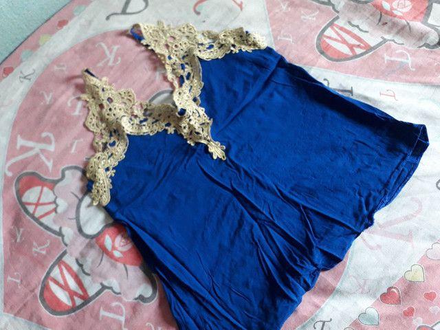 Blusa Azul  - Foto 2