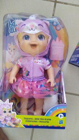 Boneca Jp Maria e baby Alive originais - Foto 2
