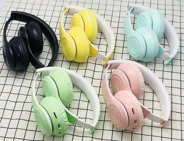 Fone Headphone Bluetooth Dobrável Entrada Sd/p2 Lançamento - P68<br> - Foto 2