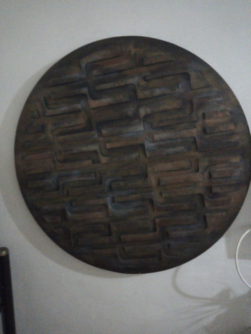 Quadro de mandala 90*90 - Foto 2