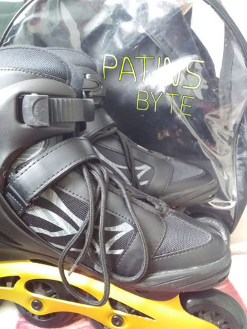 Patins in line pouco usado