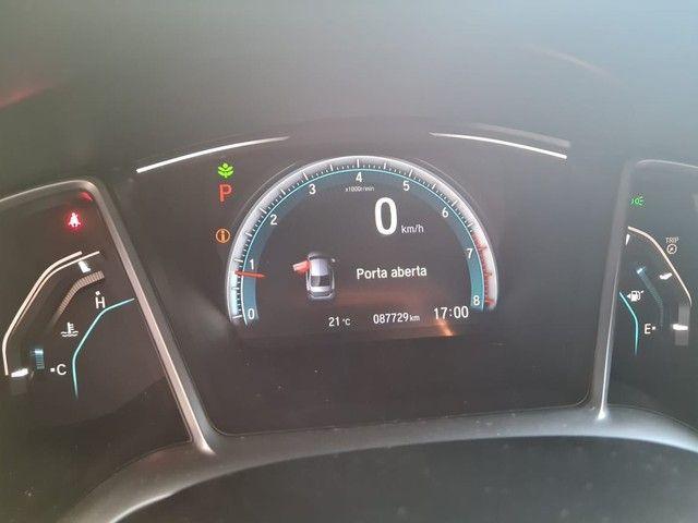 Honda Civic 2017 EXL 2.0 Flex Automático baixo km. - Foto 7