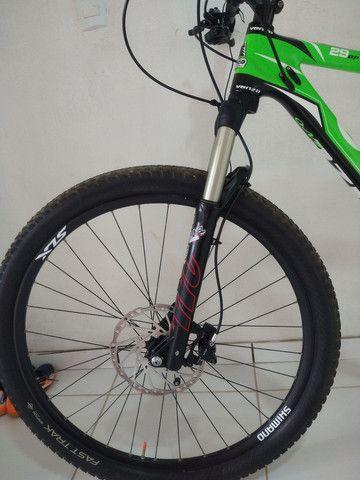 Bike aro 29 venzo x-blaze eno carbono  valor 9.000 - Foto 2