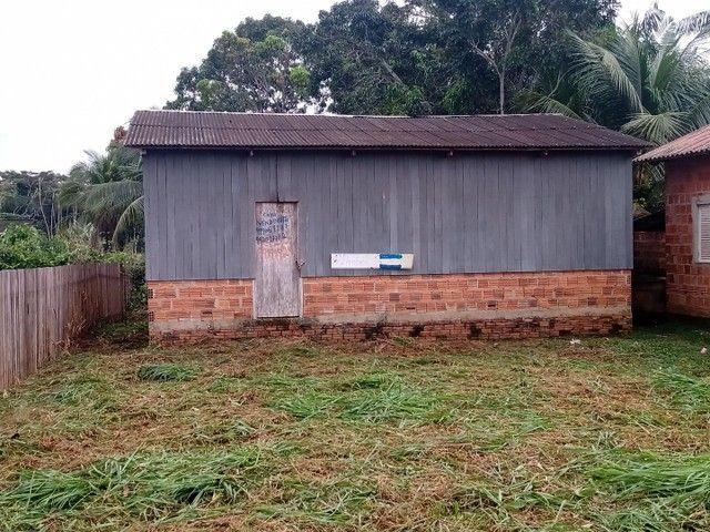 Verde_se está casa na vila acre aceito troca em gado ou uma casa no João Eduardo - Foto 2