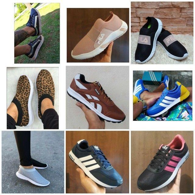 Vendo tênis Ñike e outros modelos ( 110 com entrega) - Foto 2