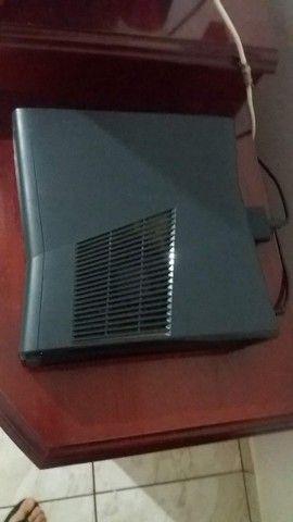 Xbox 360 com controle e jogos usado - Foto 4