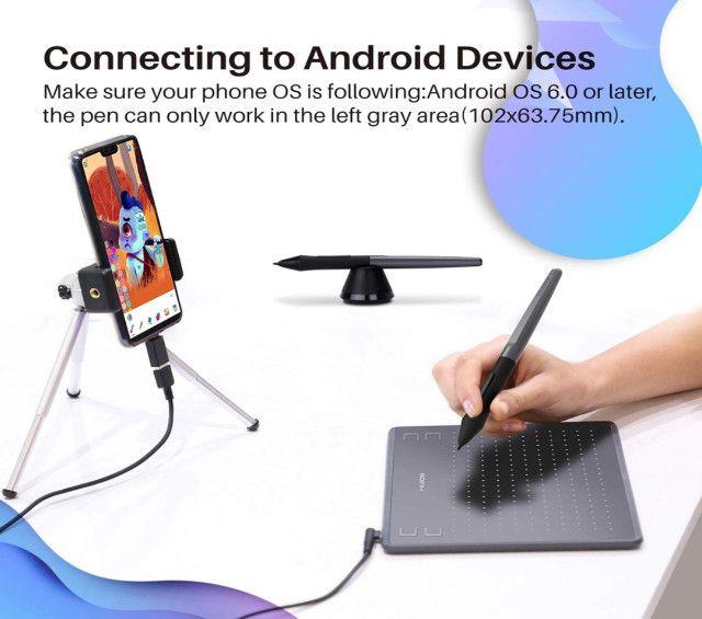 Mesa Digitalizadora Huion - Hs64 - Android/mac/win - Original - Foto 3
